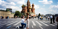 Meet Russian Ladies in  Moscow