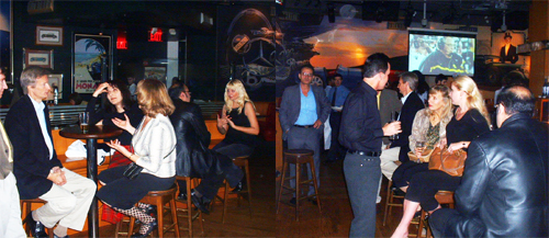 EI Social at Clydes' in Chevy Chase